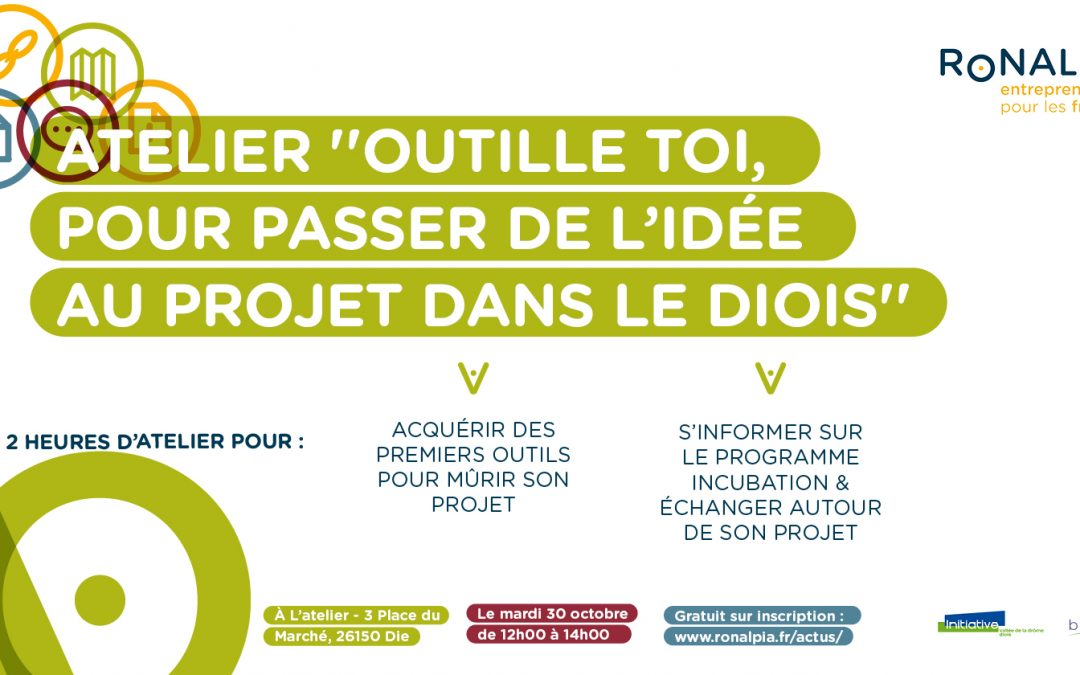 Atelier Ronalpia en Biovallée – 30 Octobre –