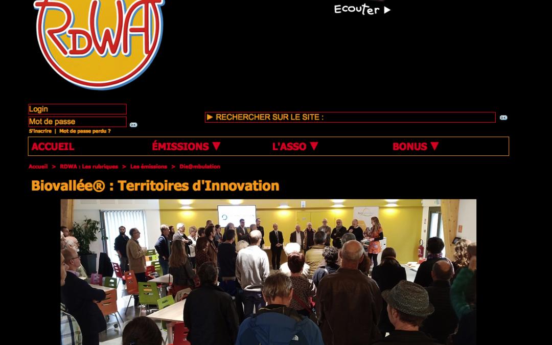Reportage de Rdwa sur la rencontre – Territoire d'Innovation- du 22 Octobre