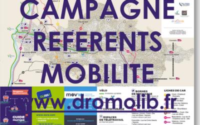 Dromolib recense des référents mobilité sur le territoire !