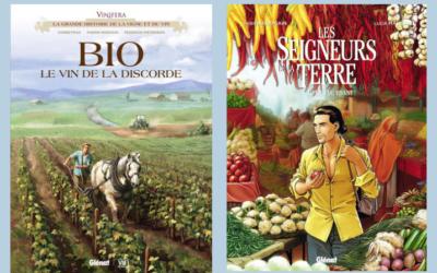 Une bande dessinée engagées sur l'agriculture, la bio, le vin …