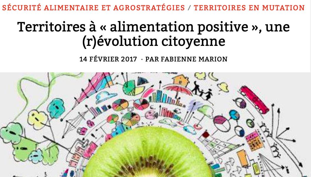 révolution citoyenne alimentaire