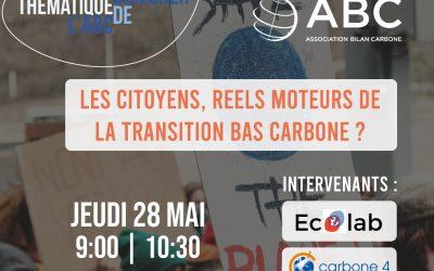 Et demain ? – actions citoyennes- bas carbone-