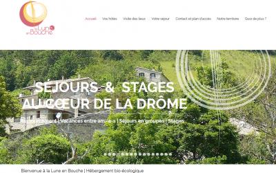 Tour de nos hébergeurs adhérents: Écotourisme avec la Lune en Bouche