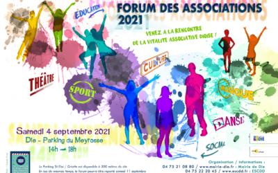 04 Septembre – Forum des associations à Die